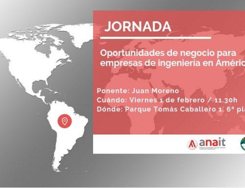 Jornada: Oportunidades de negocio para las empresas de ingeniería en América Latina