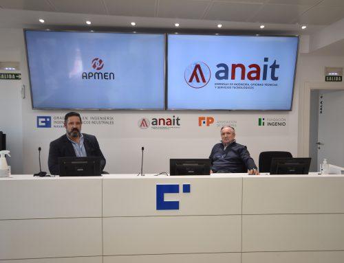 ANAIT y APMEN impulsarán conjuntamente proyectos de ingeniería, digitalización y sostenibilidad