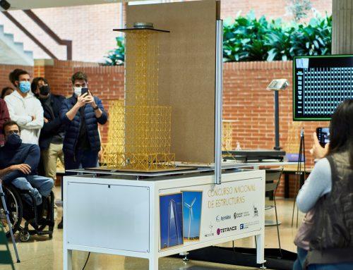 Tres proyectos de edificios construidos con espaguetis a escala reducida ganan el I Concurso Nacional de Estructuras